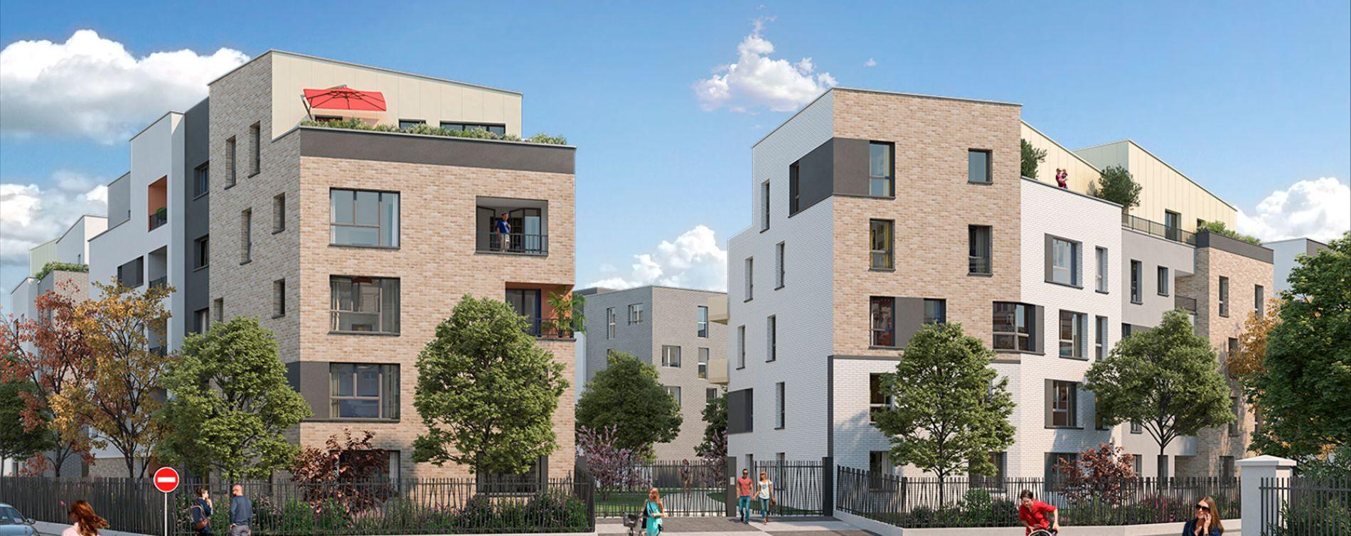 Combs-la-Ville : programme immobilier neuve « Osmose »