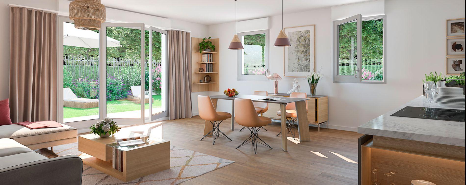 Combs-la-Ville : programme immobilier neuve « Osmose » (3)