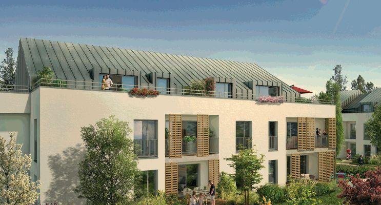 Photo n°2 du Résidence « Via Lutetia » programme immobilier neuf en Loi Pinel à Combs-la-Ville