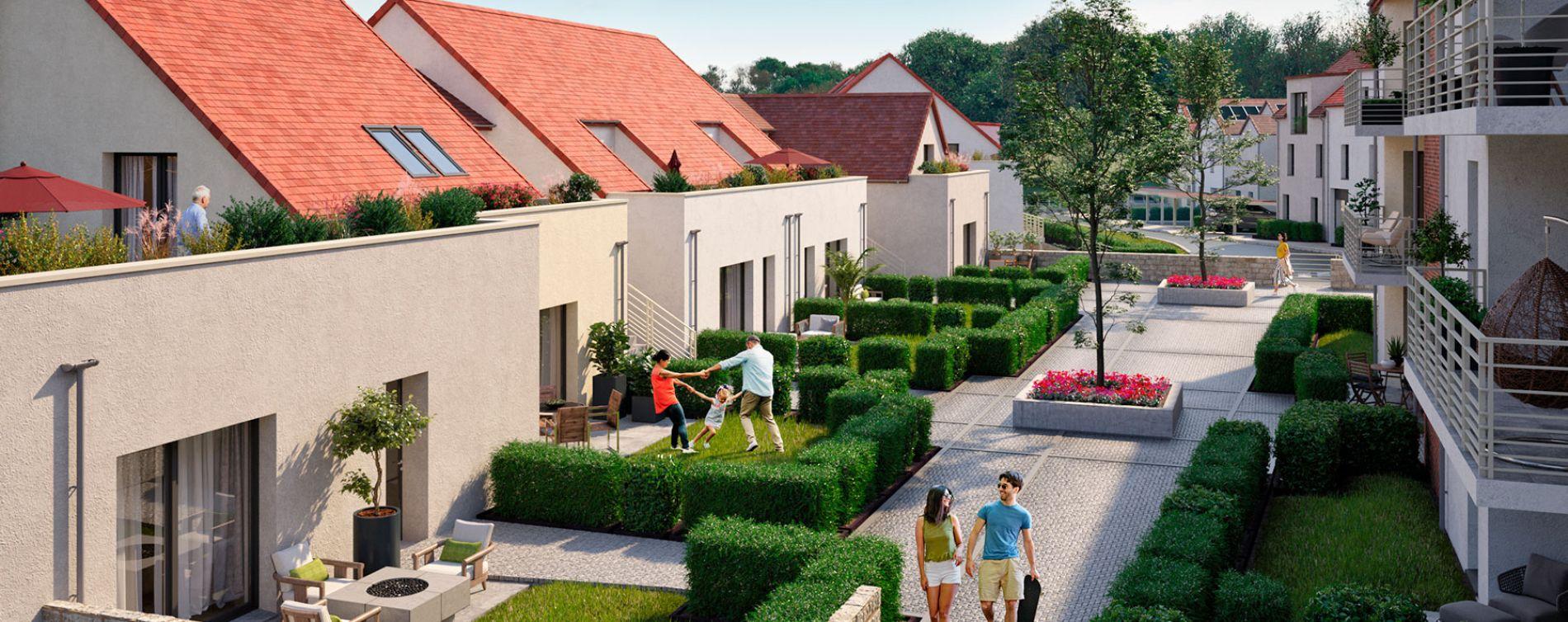 Coupvray : programme immobilier neuve « Domaine des Ormes » en Loi Pinel (2)