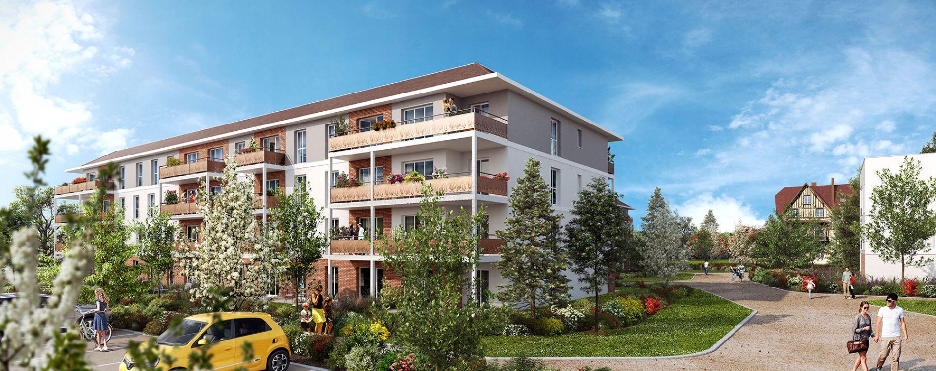 Dammarie-les-Lys : programme immobilier neuve « Domaine des Grands Chênes » en Loi Pinel