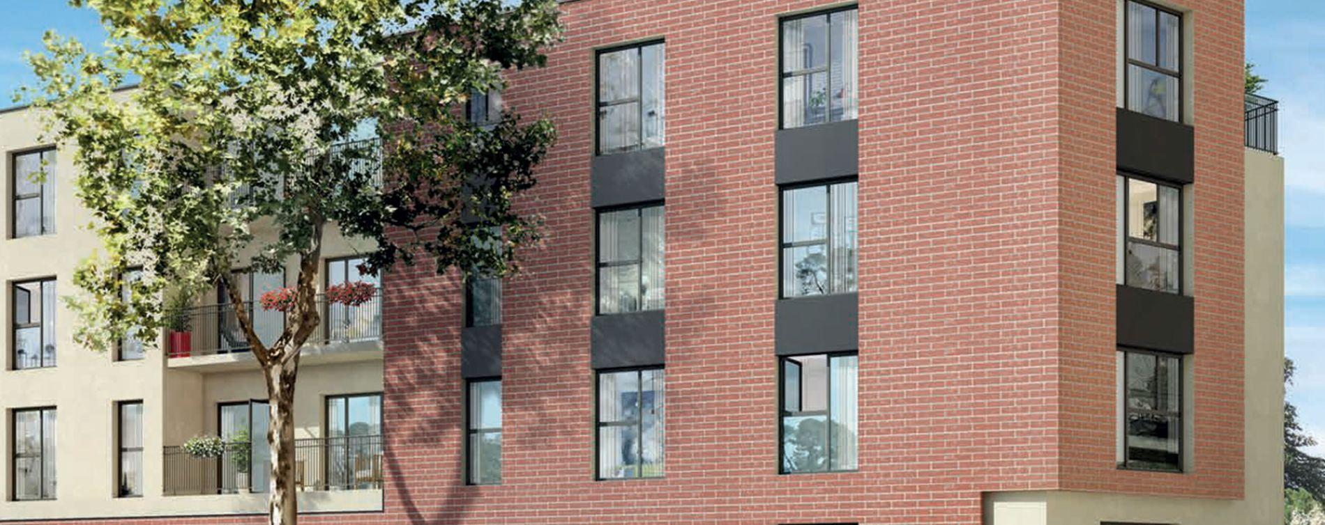Dammarie-les-Lys : programme immobilier neuve « Grand Angle » en Loi Pinel