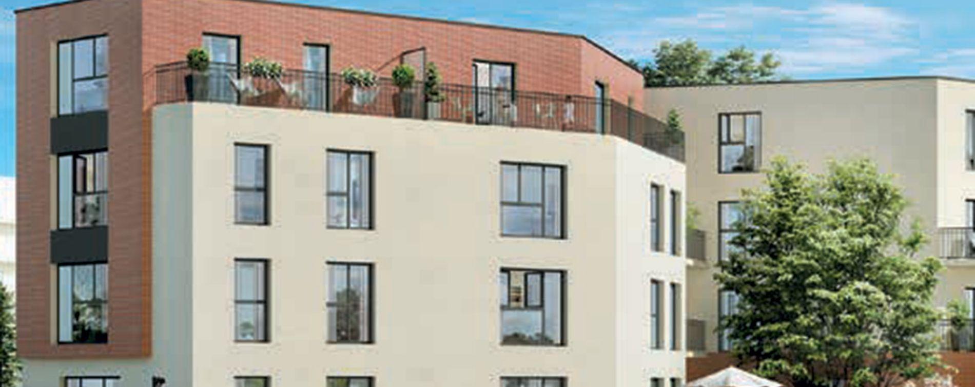 Dammarie-les-Lys : programme immobilier neuve « Grand Angle » en Loi Pinel (2)