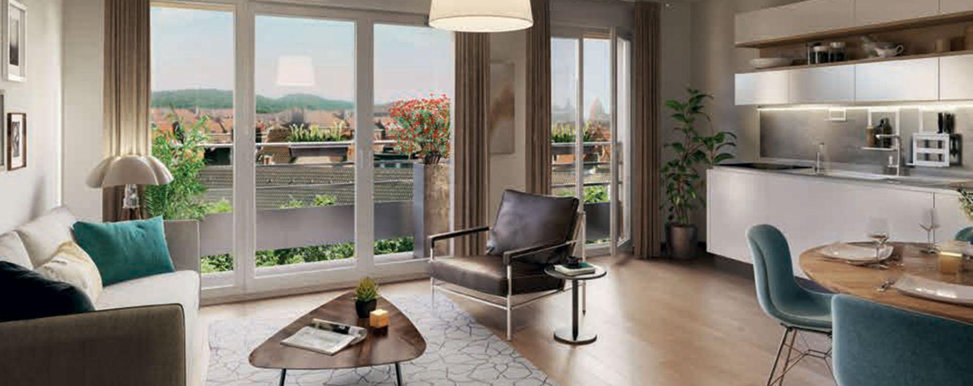 Dammarie-les-Lys : programme immobilier neuve « Grand Angle » en Loi Pinel (3)