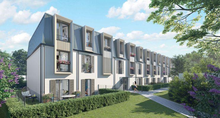 Photo du Résidence « Les Jardins de Marie » programme immobilier neuf en Loi Pinel à Fontainebleau