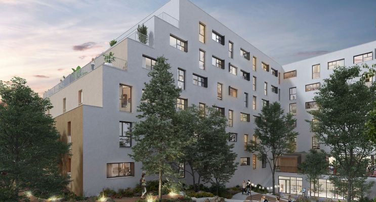 Fontainebleau : programme immobilier neuf « Studio 8 »