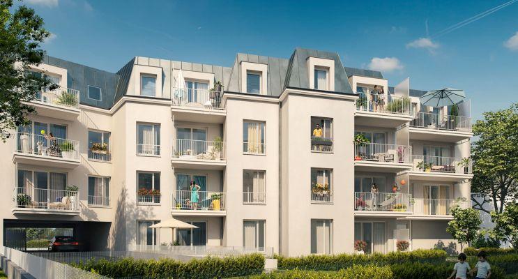 Photo du Résidence « Le Hameau du Poète » programme immobilier neuf en Loi Pinel à Gretz-Armainvilliers