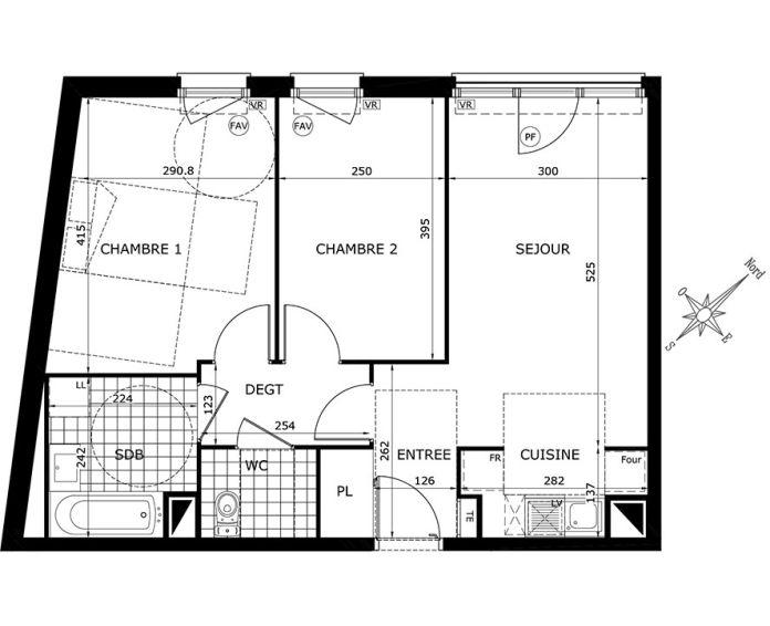 Plan T3 neuf à Gretz-Armainvilliers de