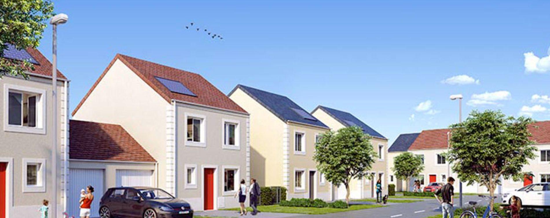 Hameau de musset guignes programme immobilier neuf n 214136 for Appartement atypique seine et marne