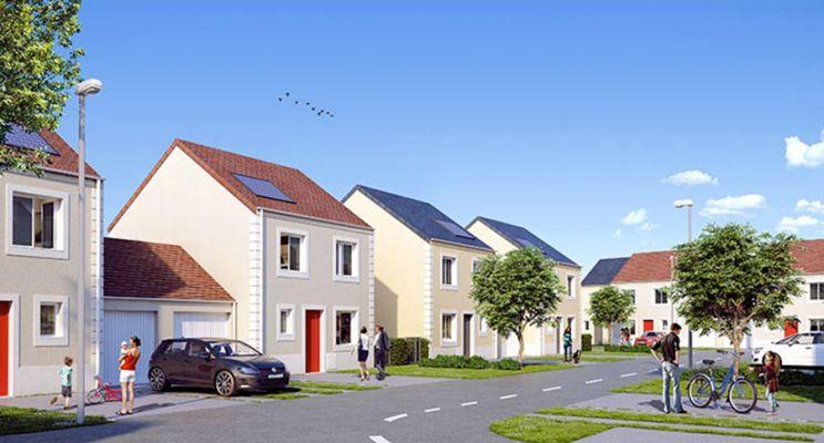 Photo du Résidence « Hameau de Musset » programme immobilier neuf à Guignes