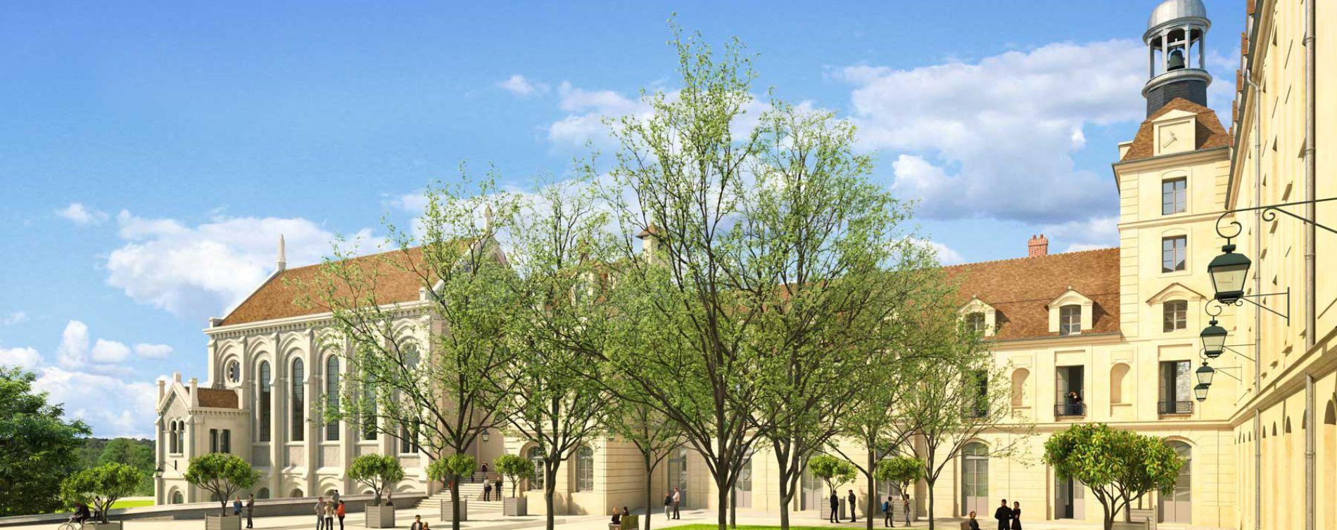 Juilly : programme immobilier à rénover « Pensionnat de Juilly » en Monument Historique (3)