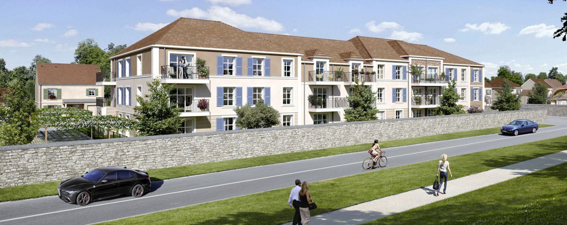 Le Mée-sur-Seine : programme immobilier neuve « Programme immobilier n°219354 » en Loi Pinel