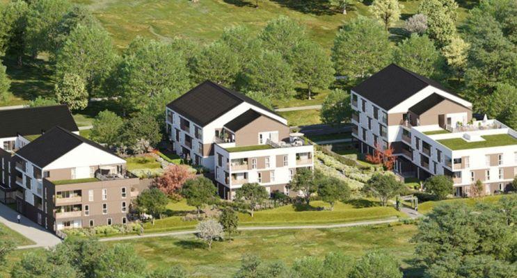 Photo n°1 du Résidence « Aqua Verde » programme immobilier neuf en Loi Pinel à Lieusaint