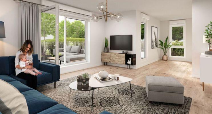 Photo n°2 du Résidence « Aqua Verde » programme immobilier neuf en Loi Pinel à Lieusaint