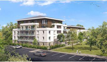 Lieusaint : programme immobilier neuf « Les Jardins du Château de la Barrière » en Loi Pinel