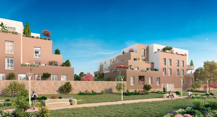 Résidence « Naturéva » programme immobilier neuf en Loi Pinel à Lieusaint n°1