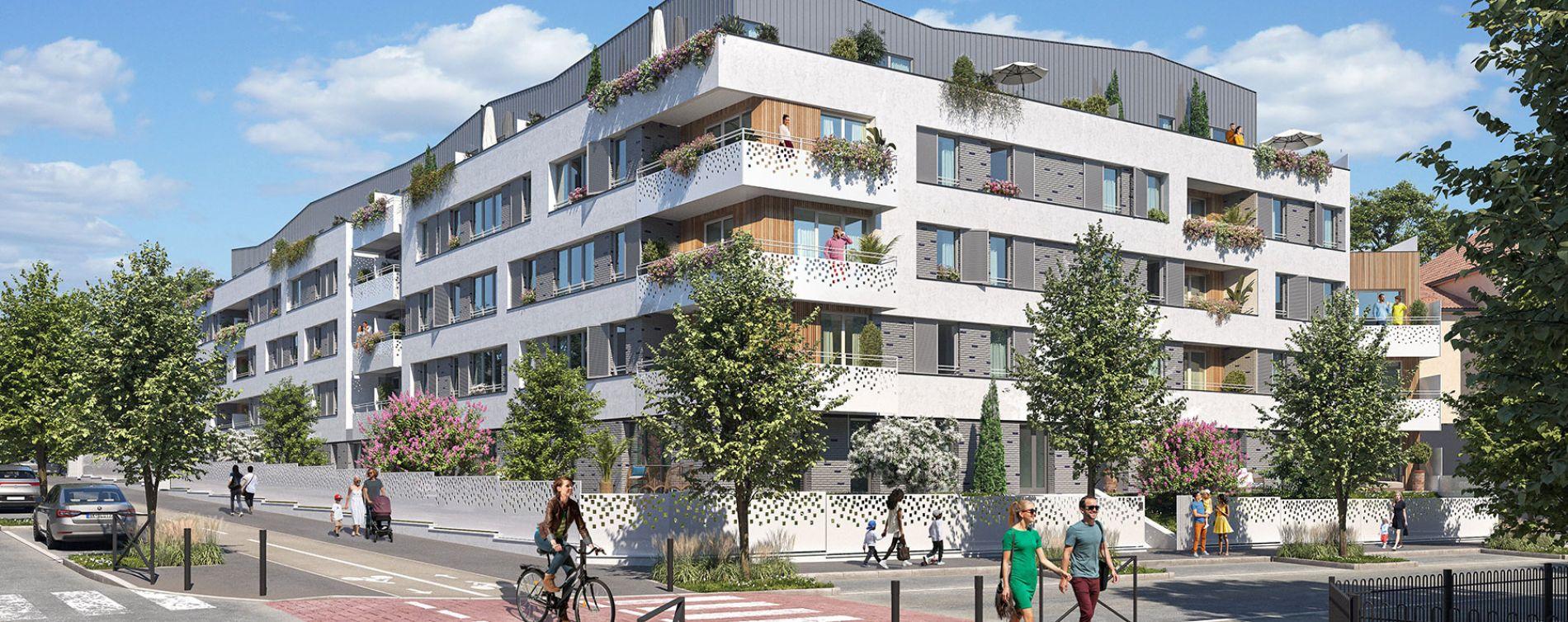 Meaux : programme immobilier neuve « Côté Canal » en Loi Pinel (2)