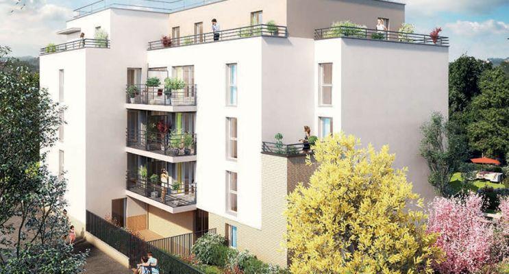 Résidence « Emeraude » programme immobilier neuf en Loi Pinel à Meaux n°1