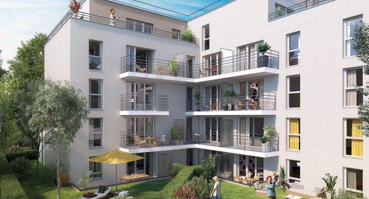 Résidence « Emeraude » programme immobilier neuf en Loi Pinel à Meaux n°2
