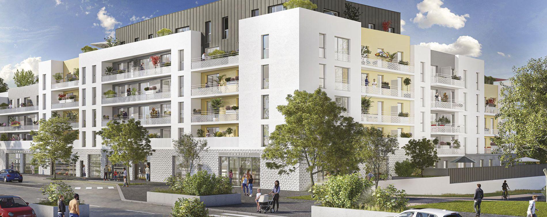 Meaux : programme immobilier neuve « Génésis »
