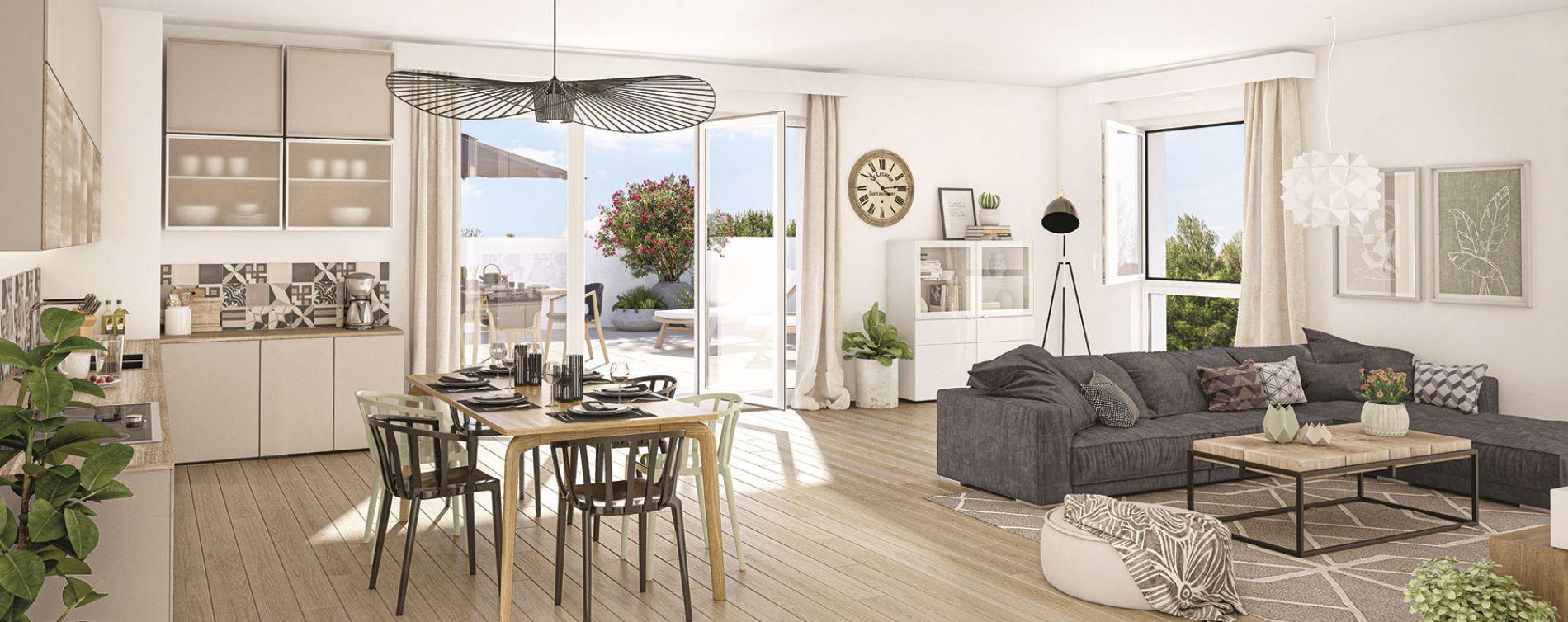 Meaux : programme immobilier neuve « Génésis » (2)