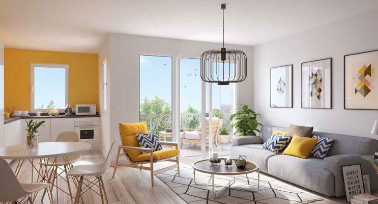 Résidence « Le Jardin D'Héloïse » programme immobilier neuf en Loi Pinel à Meaux n°4