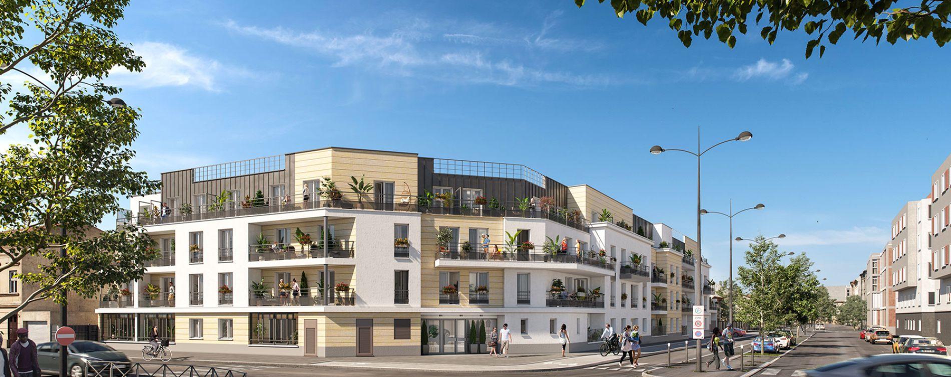Meaux : programme immobilier neuve « Luminance » en Loi Pinel