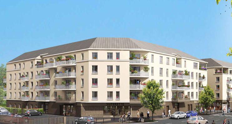 Résidence « André Malraux » programme immobilier neuf en Loi Pinel à Melun n°1