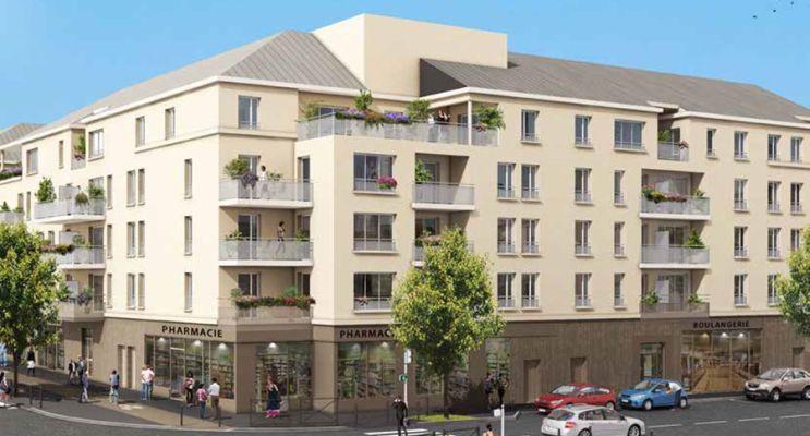 Résidence « André Malraux » programme immobilier neuf en Loi Pinel à Melun n°2
