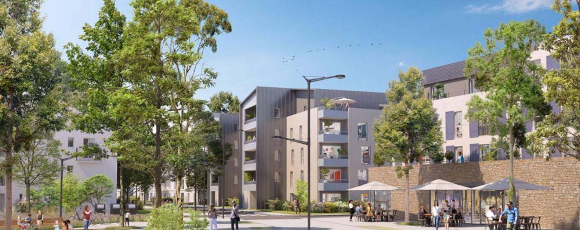 Melun : programme immobilier neuve « Central Nature » en Loi Pinel (3)