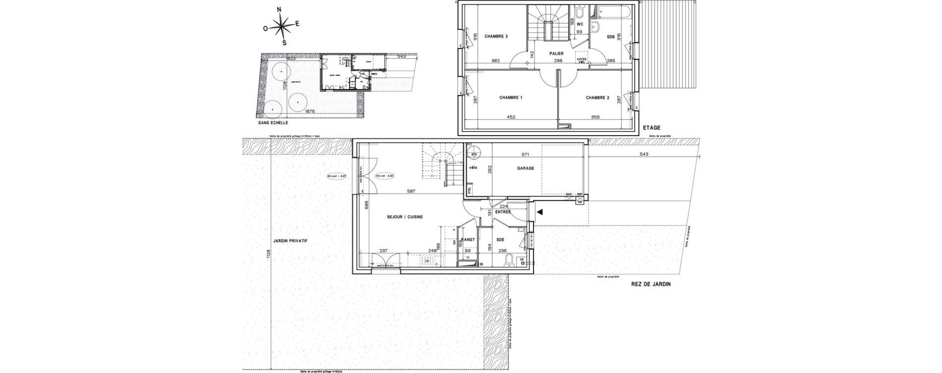 Maison T4 de 82,35 m2 à Melun Centre