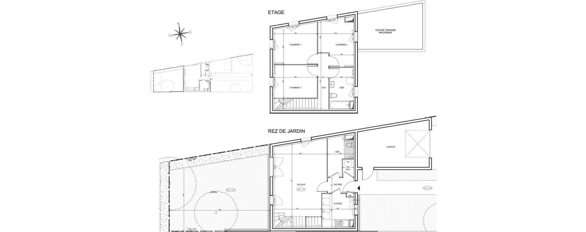 Maison T4 de 89,31 m2 à Melun Centre