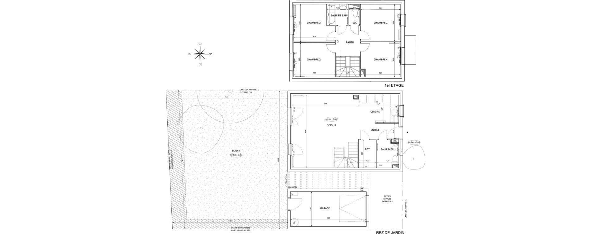 Maison T4 de 95,92 m2 à Melun Centre