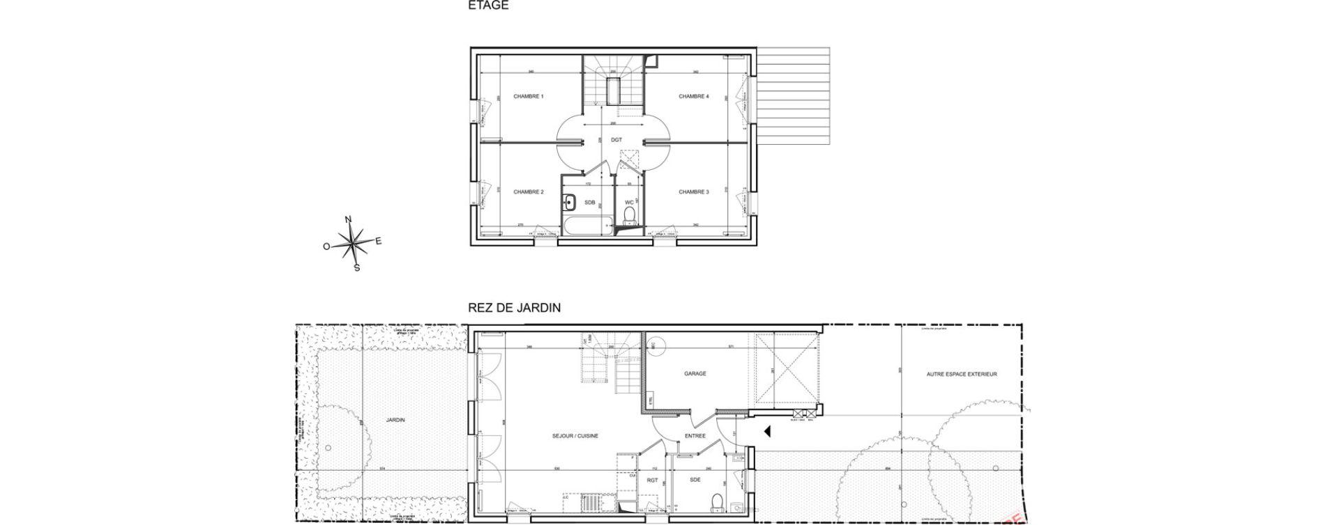 Maison T5 de 90,63 m2 à Melun Centre