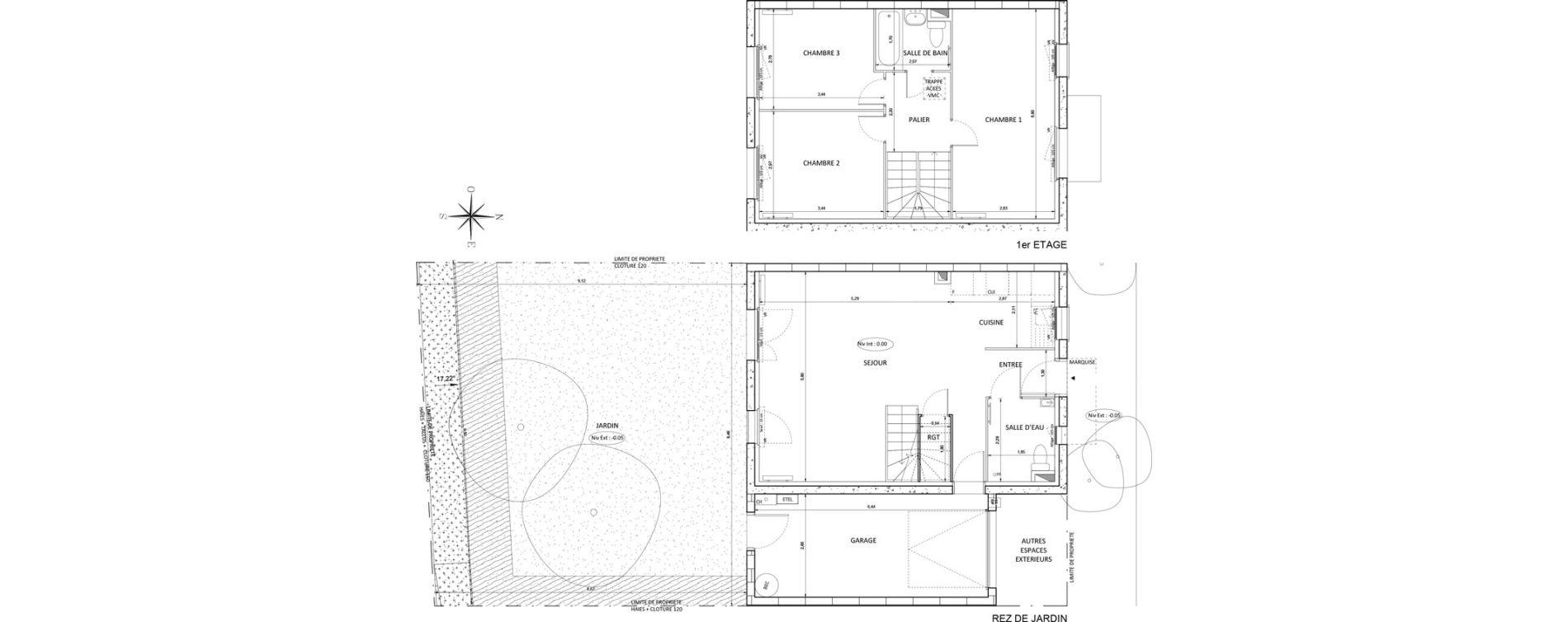 Maison T4 de 87,48 m2 à Melun Centre