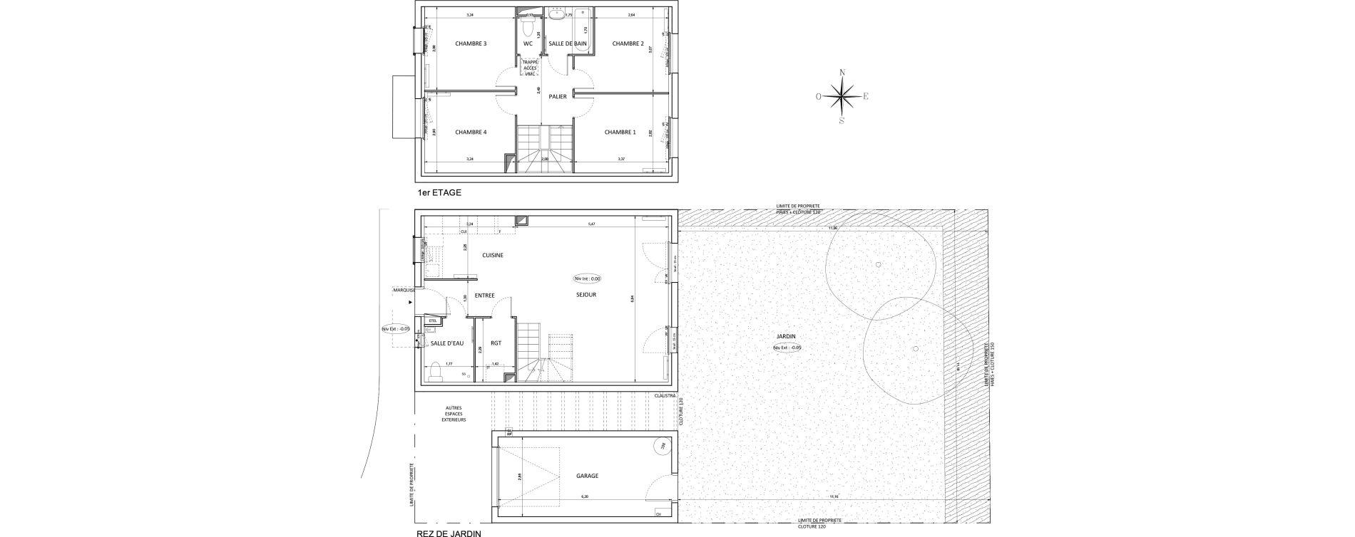Maison T5 de 95,57 m2 à Melun Centre