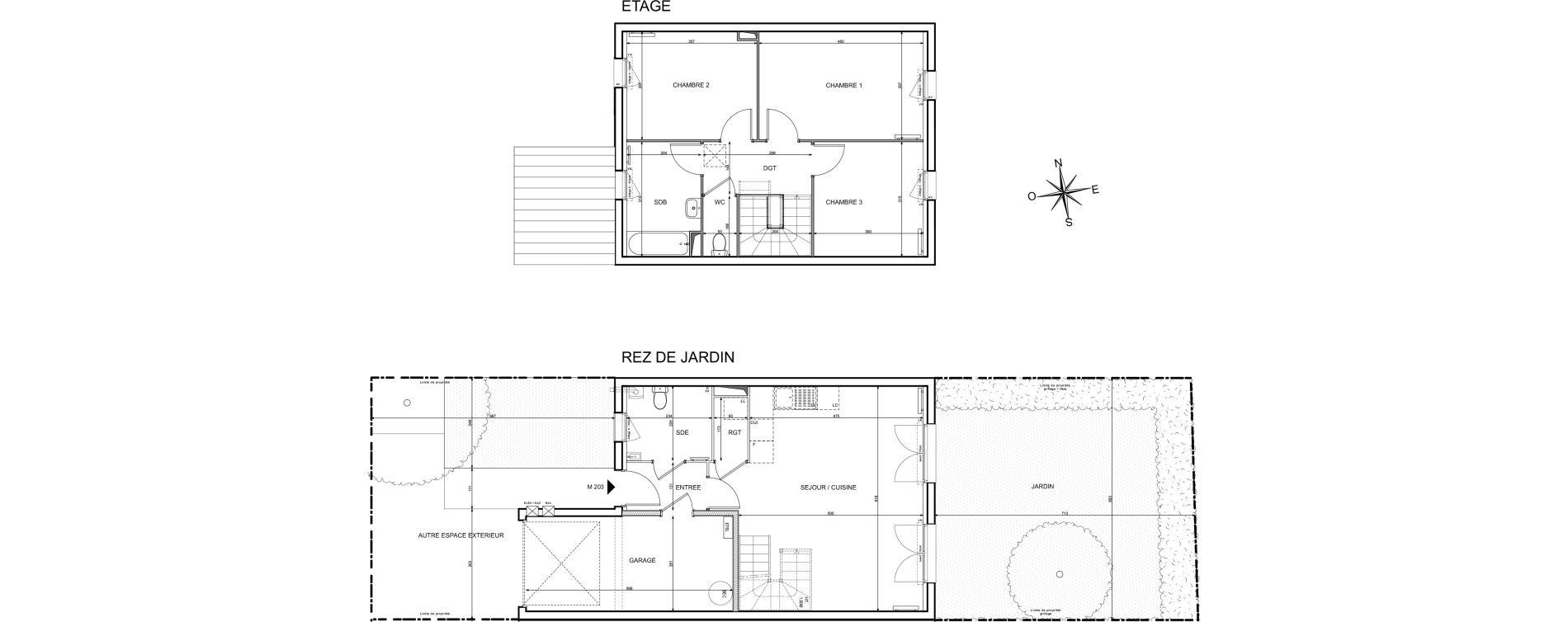 Maison T4 de 84,08 m2 à Melun Centre