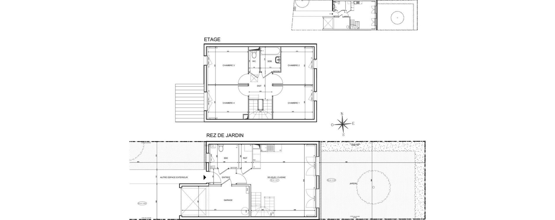 Maison T5 de 92,24 m2 à Melun Centre