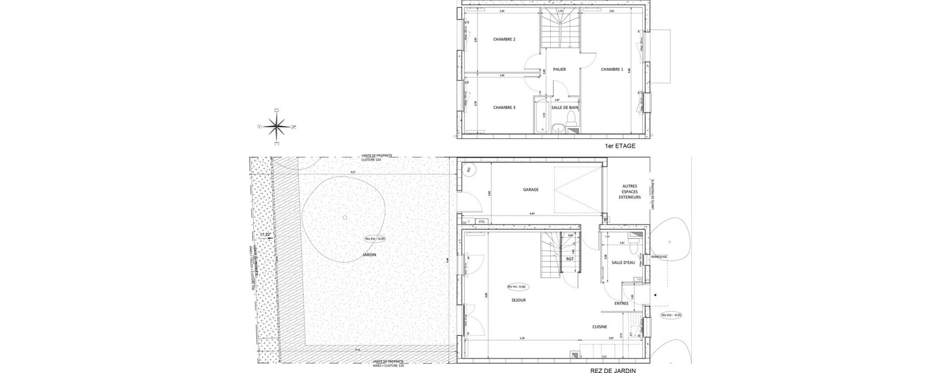 Maison T4 de 87,46 m2 à Melun Centre