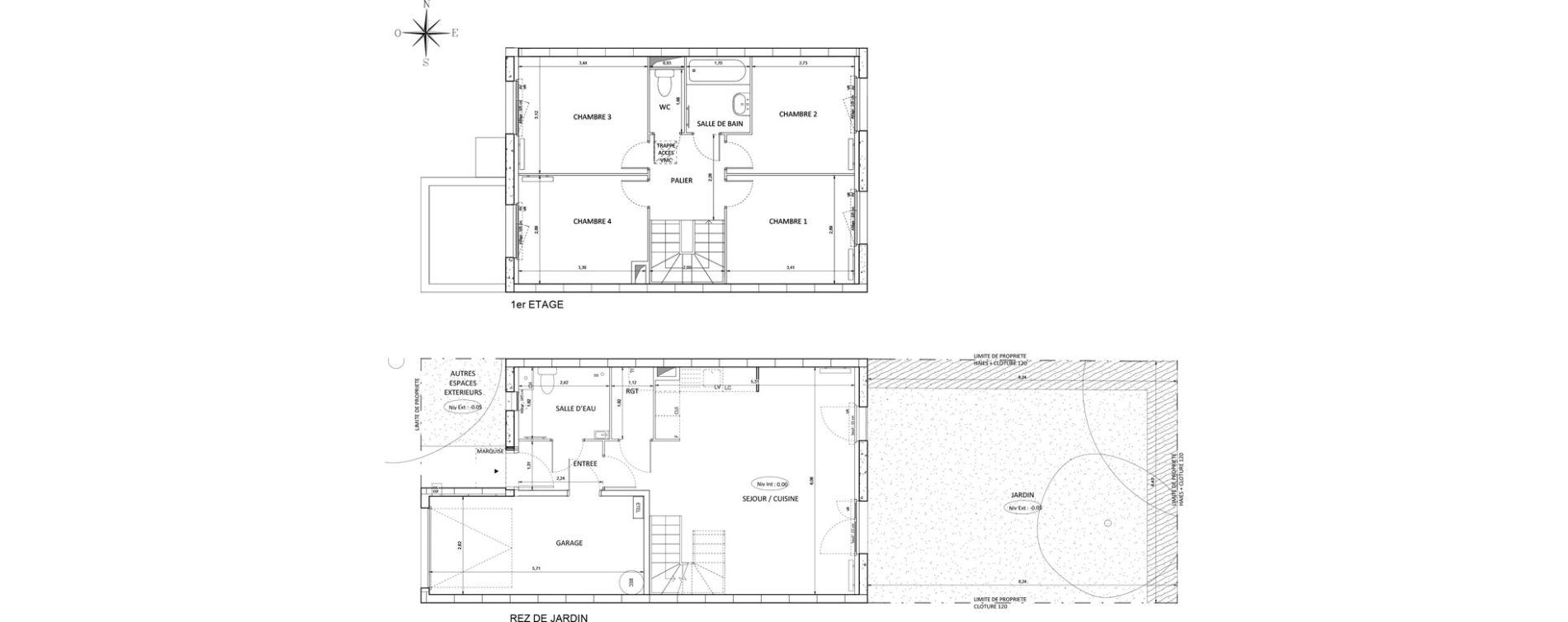 Maison T5 de 90,85 m2 à Melun Centre
