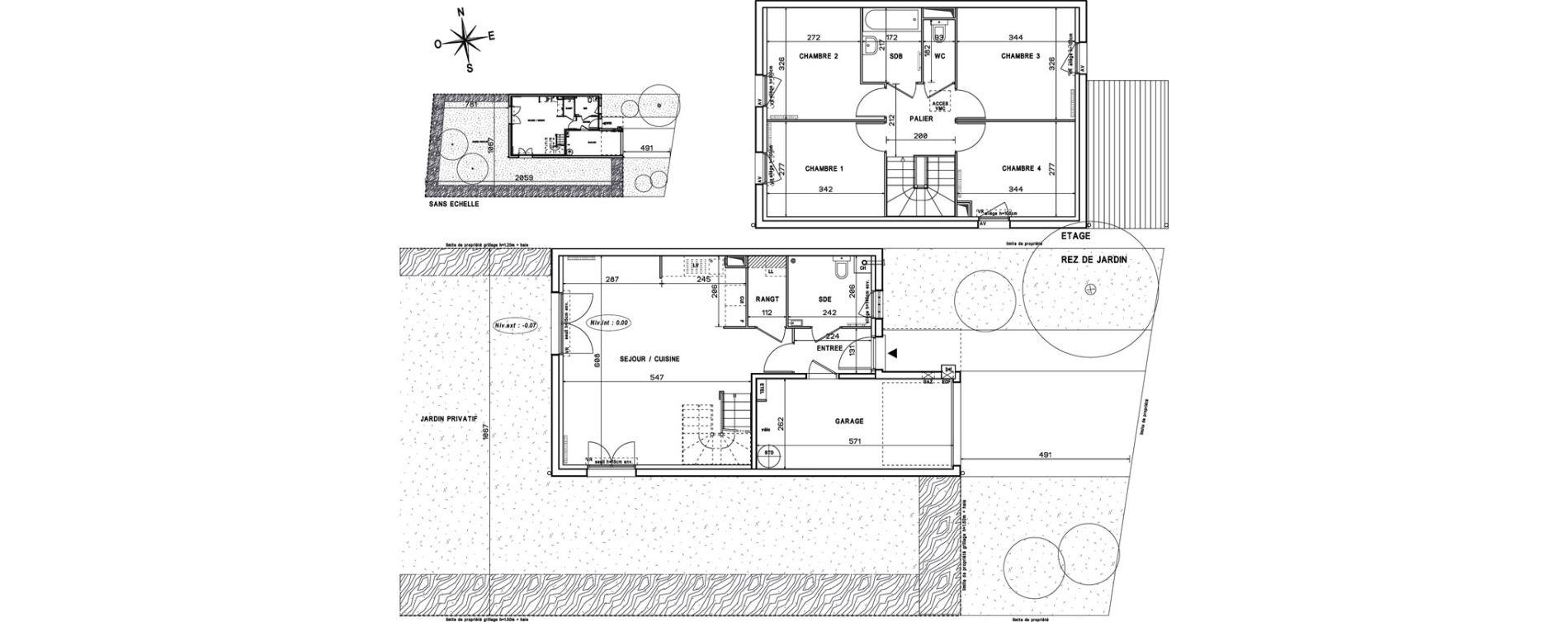 Maison T5 de 91,10 m2 à Melun Centre