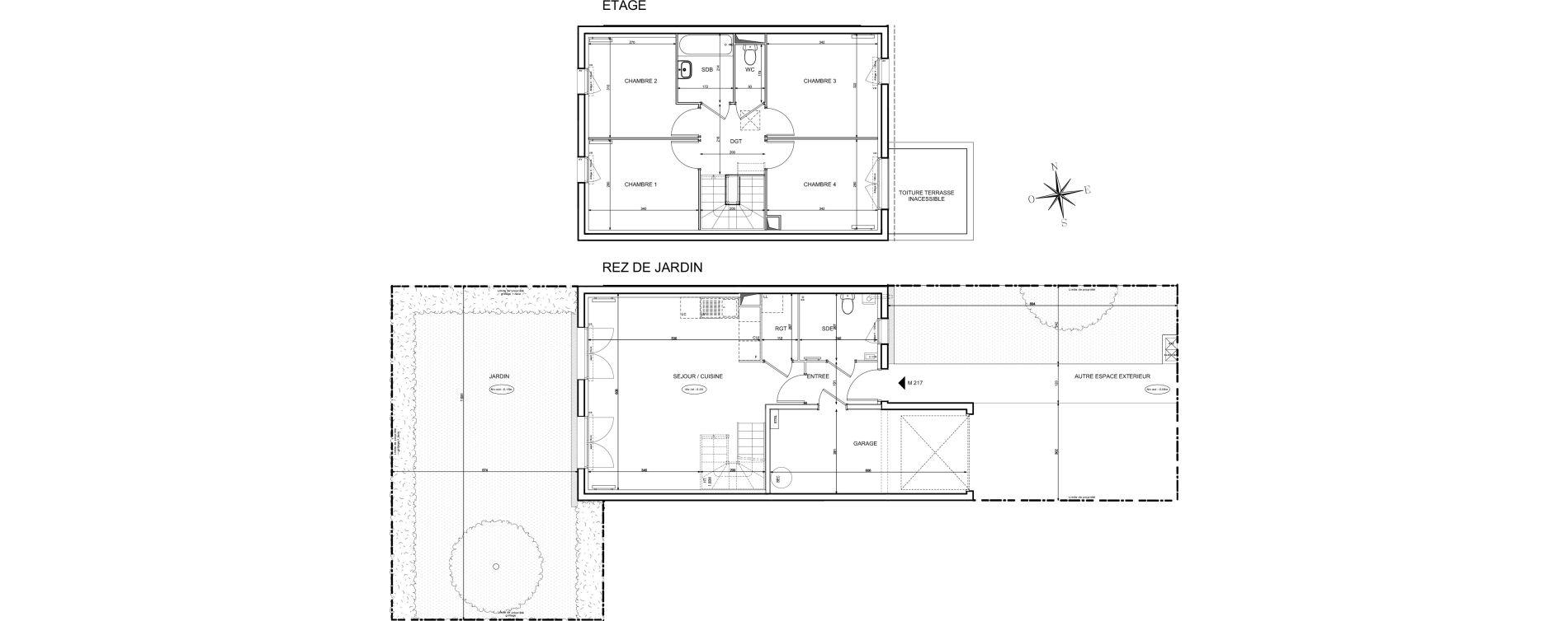 Maison T5 de 90,44 m2 à Melun Centre