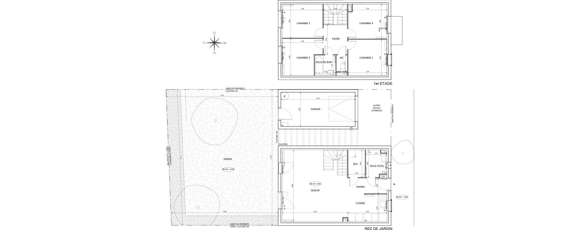 Maison T5 de 95,93 m2 à Melun Centre