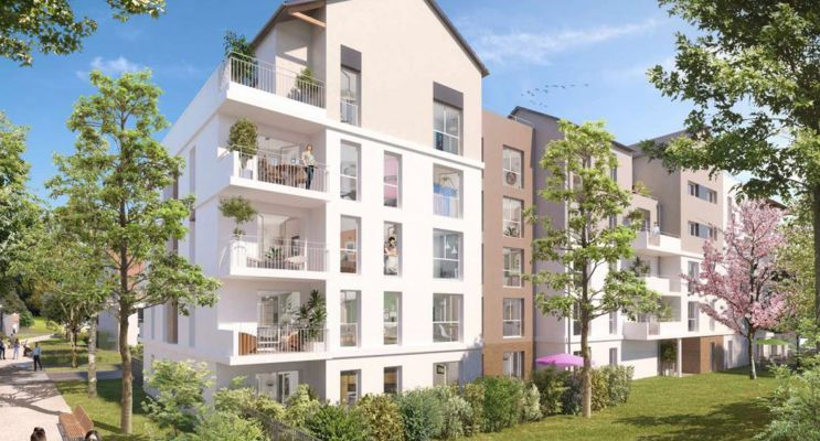 Photo du Résidence « Central Nature » programme immobilier neuf en Loi Pinel à Melun