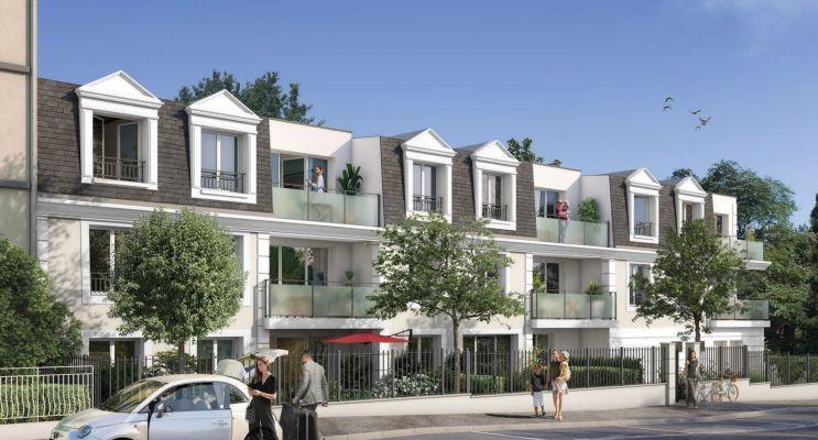 Résidence « Le 58 Briand » programme immobilier neuf en Loi Pinel à Melun n°2