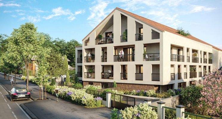 Photo du Résidence « Le Jardin Senon » programme immobilier neuf en Loi Pinel à Melun