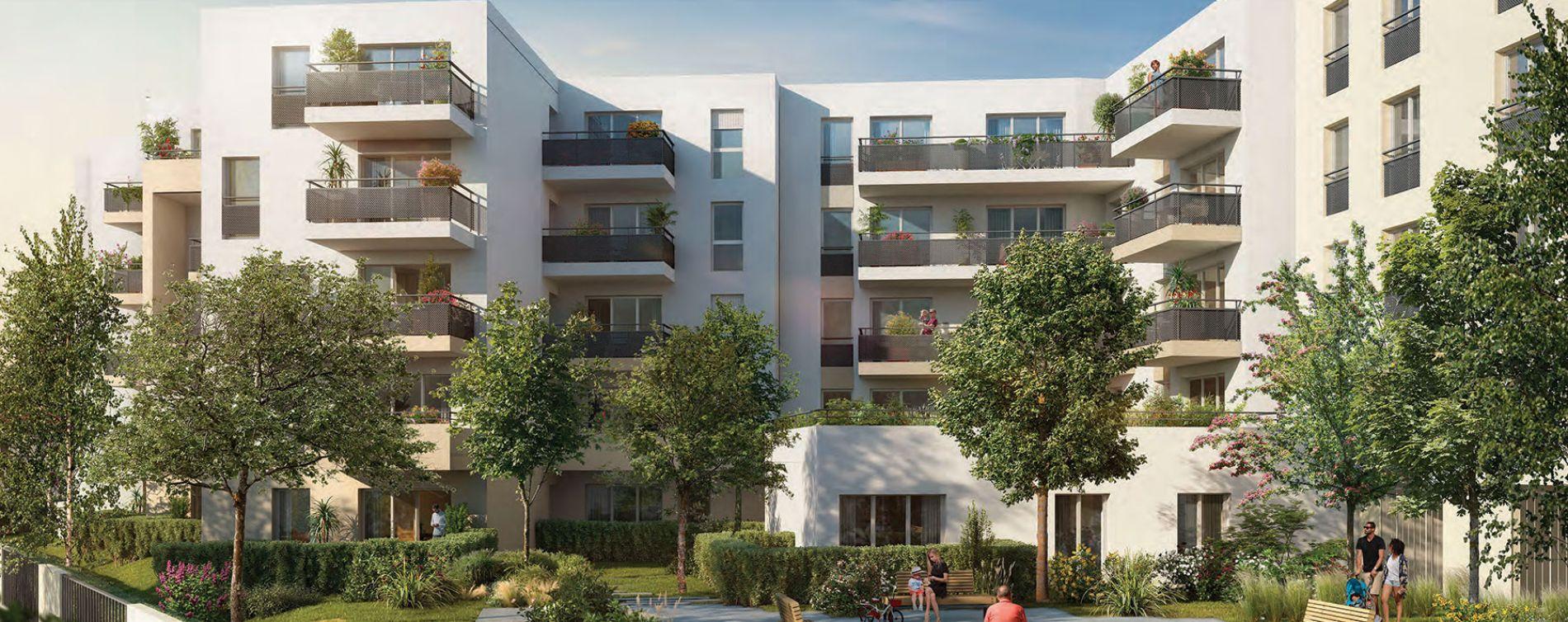 Melun : programme immobilier neuve « Le Major » en Loi Pinel