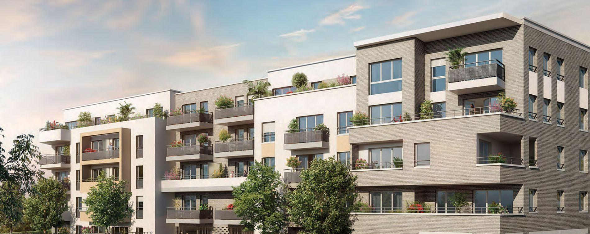 Melun : programme immobilier neuve « Le Major » en Loi Pinel (2)