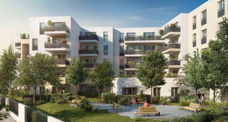 Melun programme immobilier neuf « Le Major » en Loi Pinel