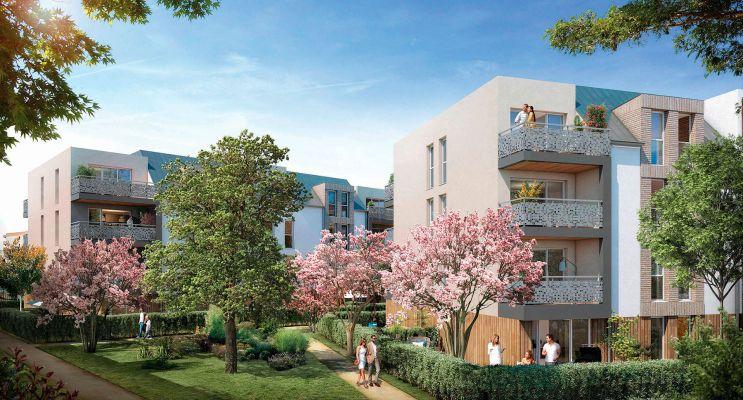 Melun programme immobilier neuf « Les Magnolias » en Loi Pinel